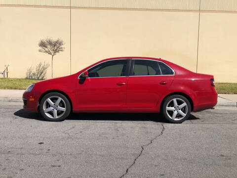 2009 Volkswagen Jetta for sale at HIGH-LINE MOTOR SPORTS in Brea CA