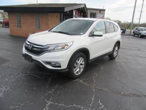 2015 Honda CR-V for sale at Riverside Motor Company in Fenton MO