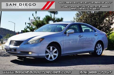 2007 Lexus ES 350 for sale at San Diego Motor Cars LLC in San Diego CA