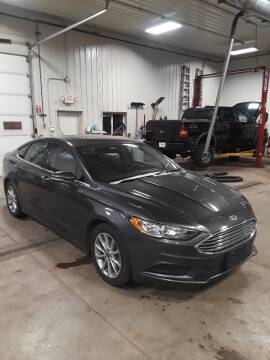 2017 Ford Fusion for sale at Next Generation Auto Sales in Baldwin WI