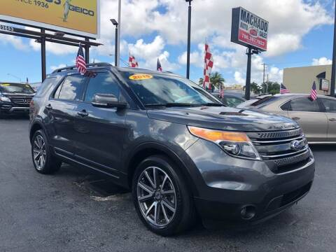 2015 Ford Explorer for sale at MACHADO AUTO SALES in Miami FL