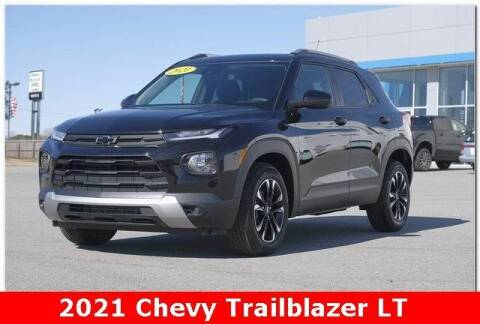 2021 Chevrolet TrailBlazer for sale at WHITE MOTORS INC in Roanoke Rapids NC