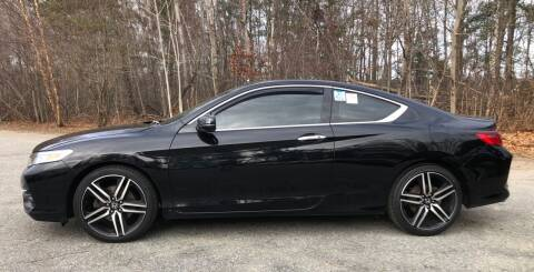 2016 Honda Accord for sale at Top Line Import of Methuen in Methuen MA