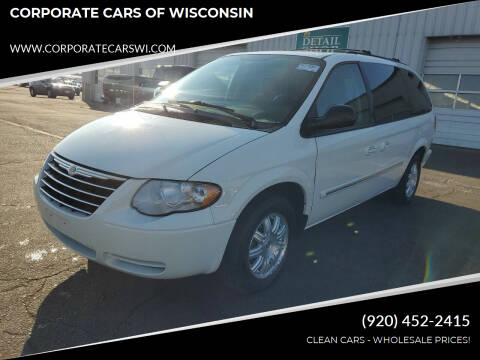 2006 Chrysler Town and Country for sale at CORPORATE CARS OF WISCONSIN - DAVES AUTO SALES OF SHEBOYGAN in Sheboygan WI