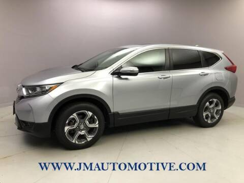 2018 Honda CR-V for sale at J & M Automotive in Naugatuck CT
