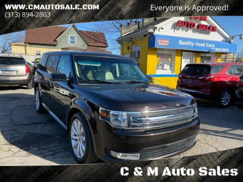 2013 Ford Flex for sale at C & M Auto Sales in Detroit MI