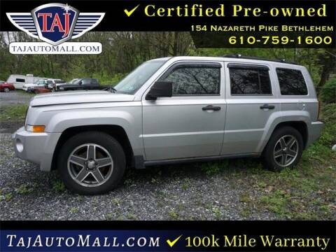 2008 Jeep Patriot for sale at Taj Auto Mall in Bethlehem PA