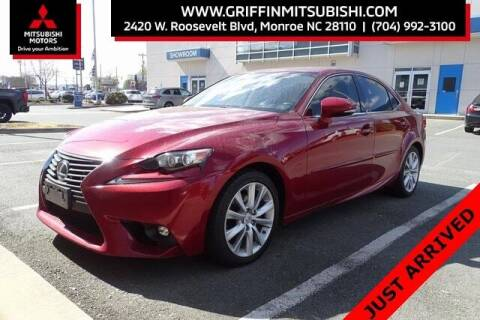 2015 Lexus IS 250 for sale at Griffin Mitsubishi in Monroe NC