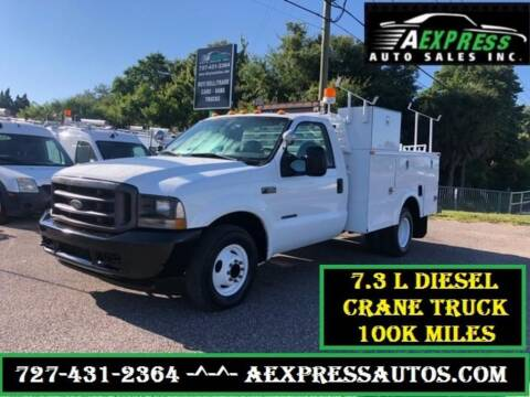 2002 Ford F-350 Super Duty for sale at A EXPRESS AUTO SALES INC in Tarpon Springs FL