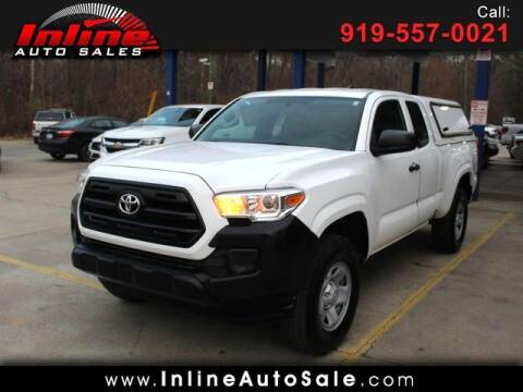2016 Toyota Tacoma for sale at Inline Auto Sales in Fuquay Varina NC