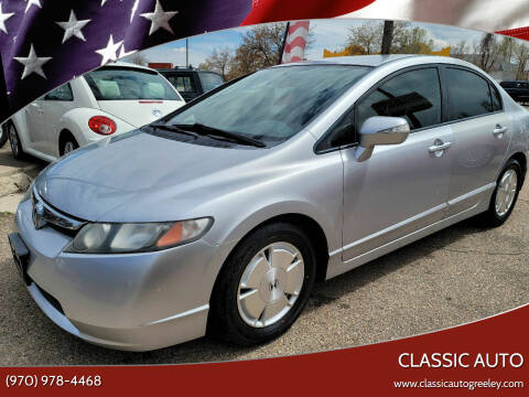 2008 Honda Civic for sale at Classic Auto in Greeley CO