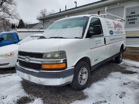 2003 Chevrolet Express Cargo for sale at Affordable Auto Sales in Toledo OH