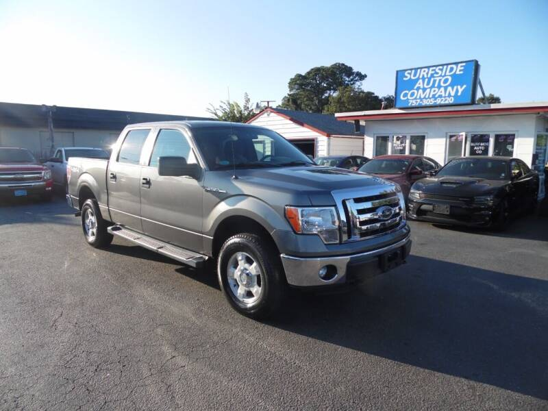 2012 Ford F-150 for sale at Surfside Auto Company in Norfolk VA