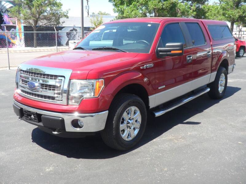 2013 Ford F-150 for sale at T & S Auto Brokers in Colorado Springs CO
