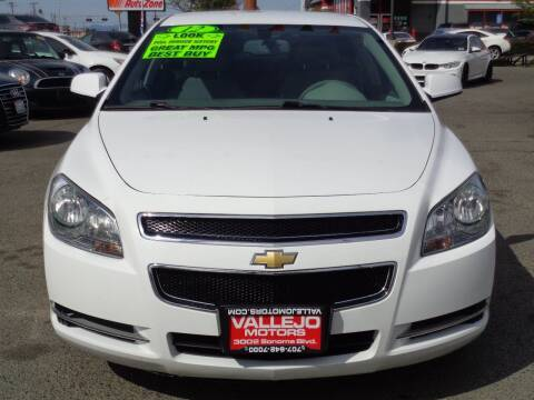 2012 Chevrolet Malibu for sale at Vallejo Motors in Vallejo CA