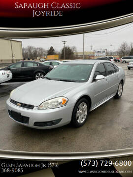 2011 Chevrolet Impala for sale at Sapaugh Classic Joyride in Salem MO