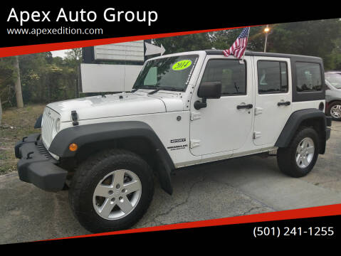 2014 Jeep Wrangler Unlimited for sale at Apex Auto Group in Cabot AR