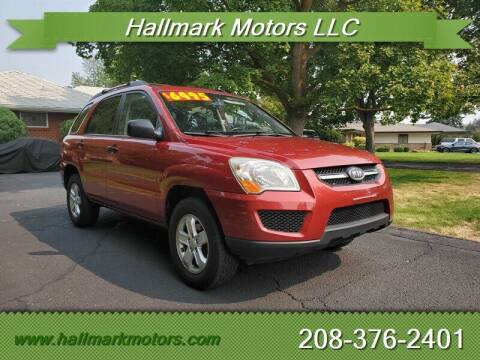 2009 Kia Sportage for sale at HALLMARK MOTORS LLC in Boise ID