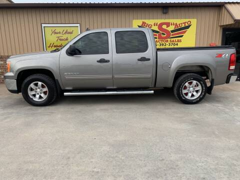 2012 GMC Sierra 1500 for sale at BIG 'S' AUTO & TRACTOR SALES in Blanchard OK