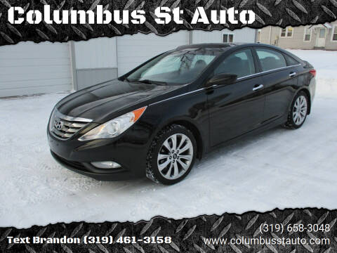 2012 Hyundai Sonata for sale at Columbus St Auto in Crawfordsville IA