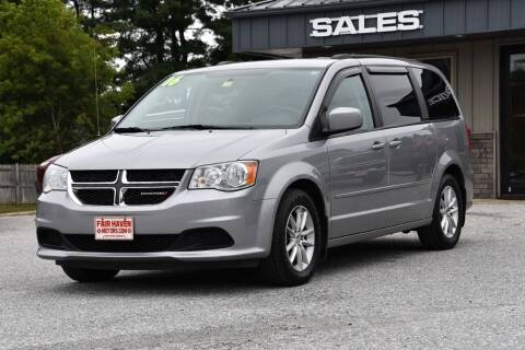 2016 Dodge Grand Caravan for sale at Will's Fair Haven Motors in Fair Haven VT