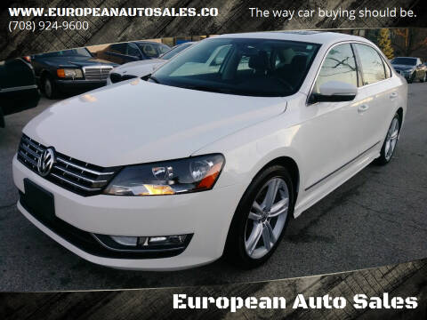 2015 Volkswagen Passat for sale at European Auto Sales in Bridgeview IL