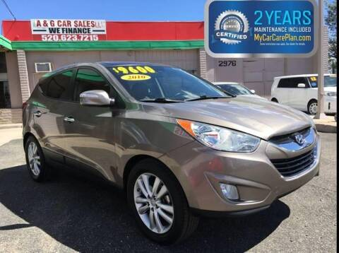 2010 Hyundai Tucson for sale at A&G Car Sales  LLC in Tucson AZ