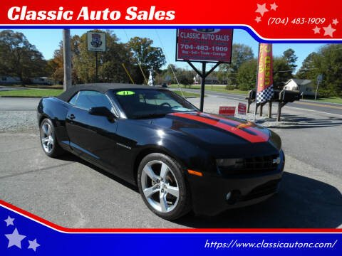 2011 Chevrolet Camaro for sale at Classic Auto Sales in Maiden NC