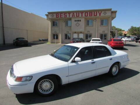 2002 Mercury Grand Marquis for sale at Best Auto Buy in Las Vegas NV