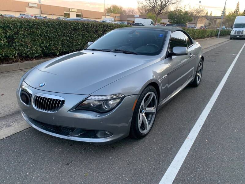 2008 BMW 6 Series for sale at LG Auto Sales in Rancho Cordova CA