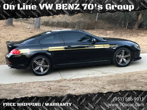 2005 BMW 6 Series for sale at On Line VW BENZ 70's Group in Warehouse CA