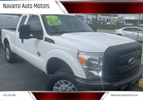 2016 Ford F-250 Super Duty for sale at Navarro Auto Motors in Hialeah FL