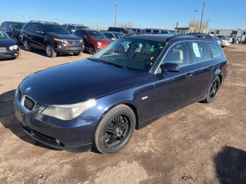 2006 BMW 5 Series for sale at PYRAMID MOTORS - Fountain Lot in Fountain CO