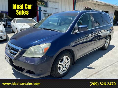 2005 Honda Odyssey for sale at Ideal Car Sales in Los Banos CA