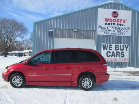 2001 Chrysler Town and Country for sale at Woody's Auto Sales Inc in Randolph MN