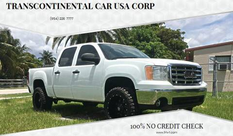 2008 GMC Sierra 1500 for sale at Transcontinental Car USA Corp in Fort Lauderdale FL