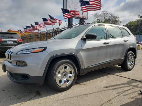 2015 Jeep Cherokee for sale at Gus's Used Auto Sales in Detroit MI