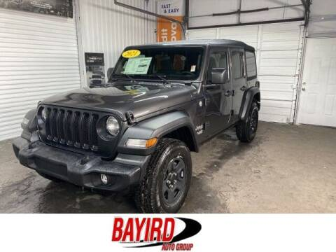 2021 Jeep Wrangler Unlimited for sale at Bayird Truck Center in Paragould AR