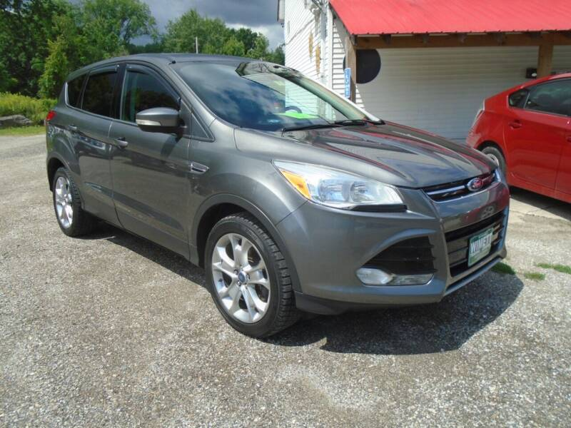 2013 Ford Escape for sale at Wimett Trading Company in Leicester VT