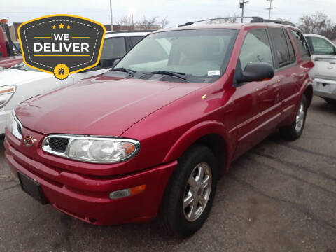 2002 Oldsmobile Bravada for sale at Tower Motors in Brainerd MN