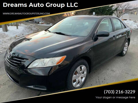 2007 Toyota Camry for sale at Dreams Auto Group LLC in Sterling VA