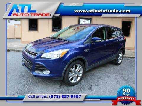 2013 Ford Escape for sale at ATL Auto Trade, Inc. in Stone Mountain GA