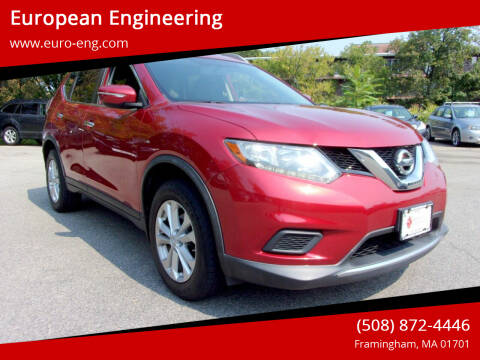 2015 Nissan Rogue for sale at European Engineering in Framingham MA