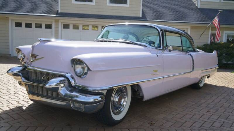 1956 Cadillac DeVille for sale at Fiore Motors, Inc.  dba Fiore Motor Classics in Old Bethpage NY