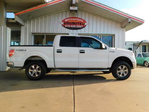 2014 Ford F-150 for sale at Motorsports Unlimited in McAlester OK