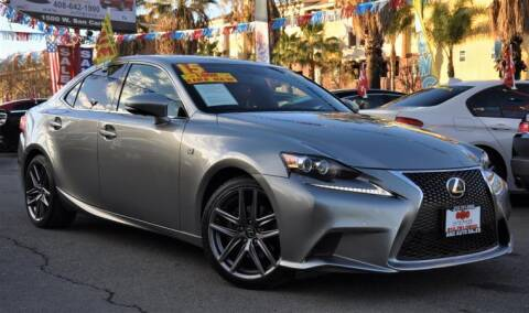 2015 Lexus IS 250 for sale at AMC Auto Sales Inc in San Jose CA