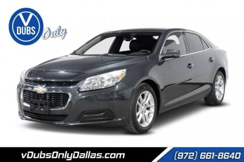 2014 Chevrolet Malibu for sale at VDUBS ONLY in Dallas TX