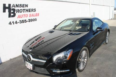 2013 Mercedes-Benz SL-Class for sale at HANSEN BROTHERS AUTO SALES in Milwaukee WI