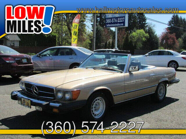 1980 Mercedes-Benz SL-Class for sale at Hall Motors LLC in Vancouver WA