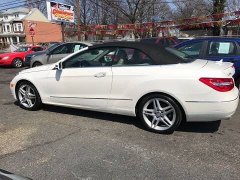 2013 Mercedes-Benz E-Class for sale at Chambers Auto Sales LLC in Trenton NJ